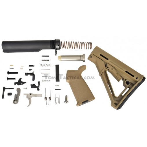 Anderson Manufacturing Magpul CTR Lower Build Kit AR-15 LBK - FDE