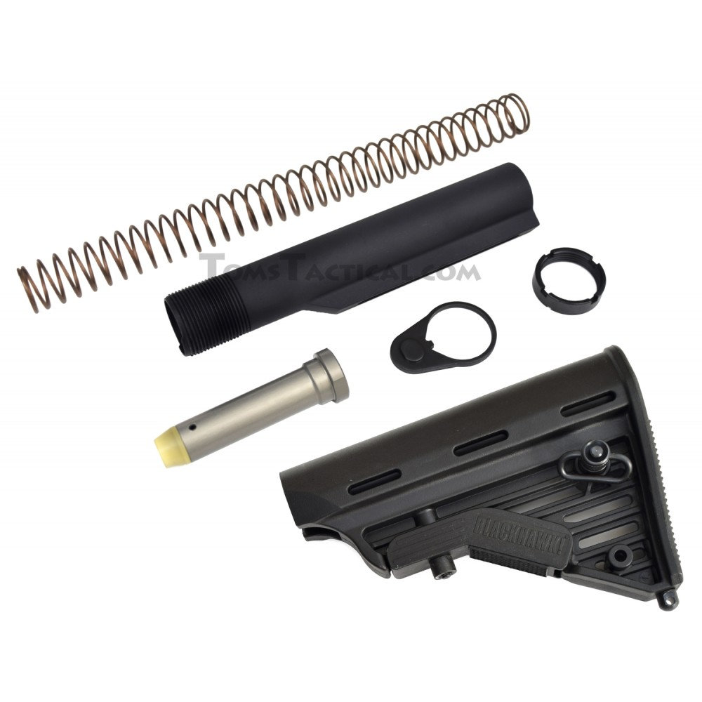Anderson Manufacturing AR-15 Buffer Kit with Blackhawk Stock