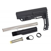 Anderson Manufacturing AR-15 Buffer Kit with Mission First Tactical MFT Minimalist Stock Black