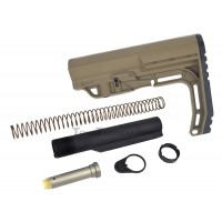 Anderson Manufacturing AR-15 Buffer Kit with Mission First Tactical MFT Minimalist Stock - SDE