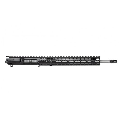 """Aero Precision M5E1 18"""" .308 Stainless Steel Fluted Upper Receiver Assembly MLOK"""