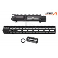 "Aero Precision M5E1 308 Upper Receiver + 15"" M-Lok Rail - Gen 2 + Flash Hider"
