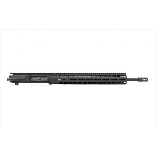 "Aero Precision M5E1 AR-10 18"" .308 Stainless Black QPQ Melonite Premium Tactical Upper Receiver Assembly MLOK"