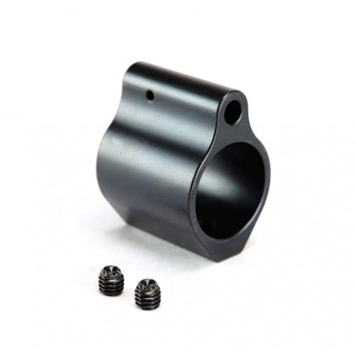 Black Nitride Gas Block Low Profile .750