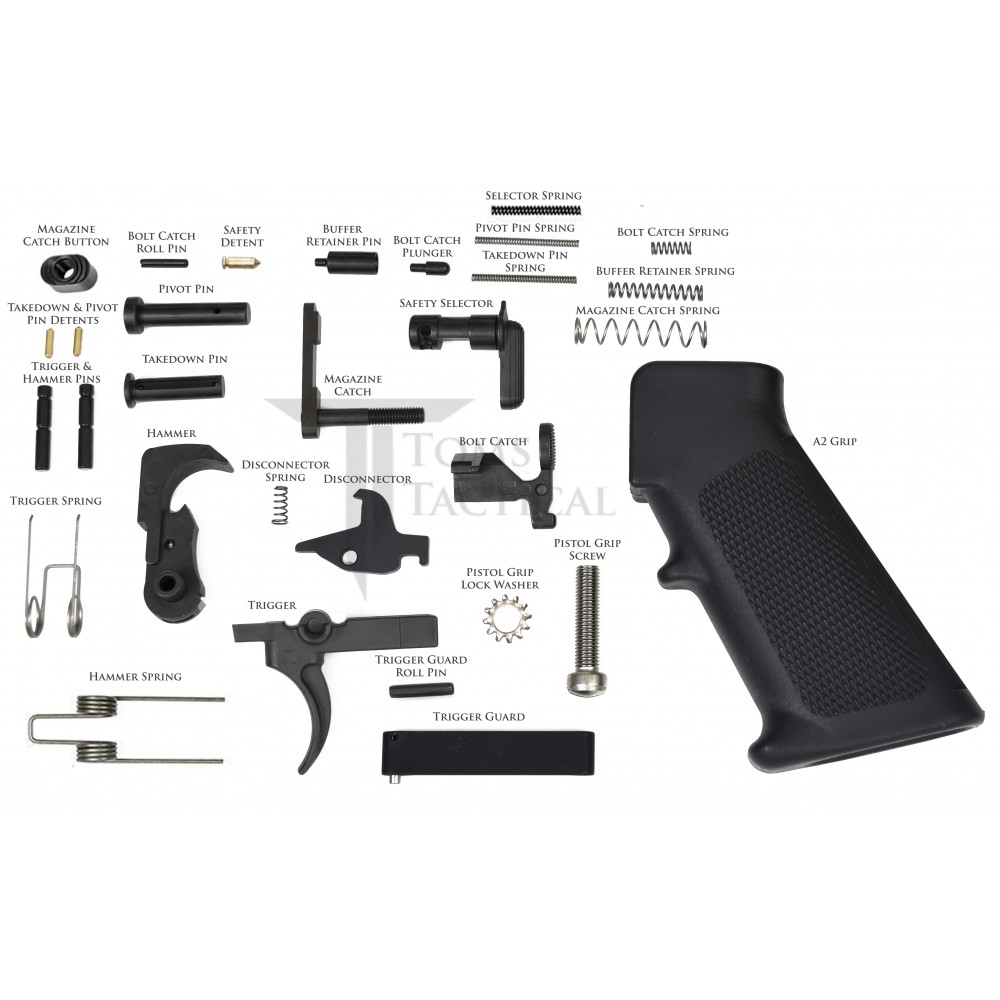 Ar15 Lpk Lower Parts Kit Free Shipping Made In Usa
