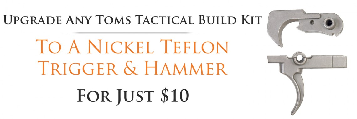 Nickel Teflon Trigger & Hammer Upgrade