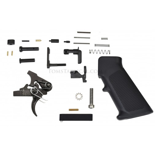 Toms Tactical AR-15 Lower Parts Kit with Geissele SSA Trigger