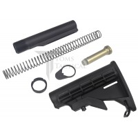 Toms Tactical AR-15 Mil-Spec Buffer Tube Assembly Kit with M4 Stock
