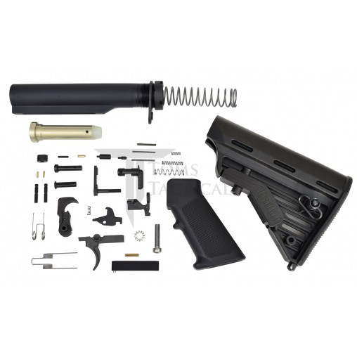 Toms Tactical AR-15 Lower Build Kit  Blackhawk Stock