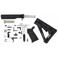 Toms Tactical AR-15 Magpul CTR Lower Build Kit - Black