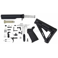 Toms Tactical AR-15 Magpul MOE Lower Build Kit - Black
