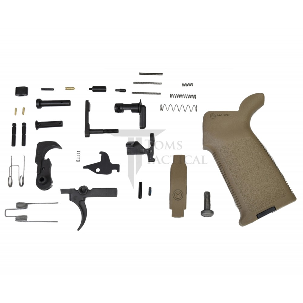 Toms Tactical AR-15 Magpul MOE Lower Parts Kit LPK - FDE