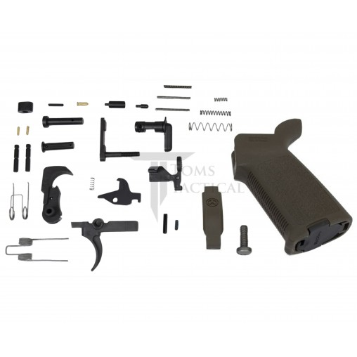 Toms Tactical AR-15 Magpul MOE Lower Parts Kit LPK - OD Green