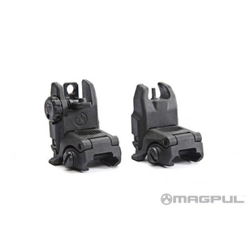 Magpul MBUS Gen II Front & Rear Sight Set - Black