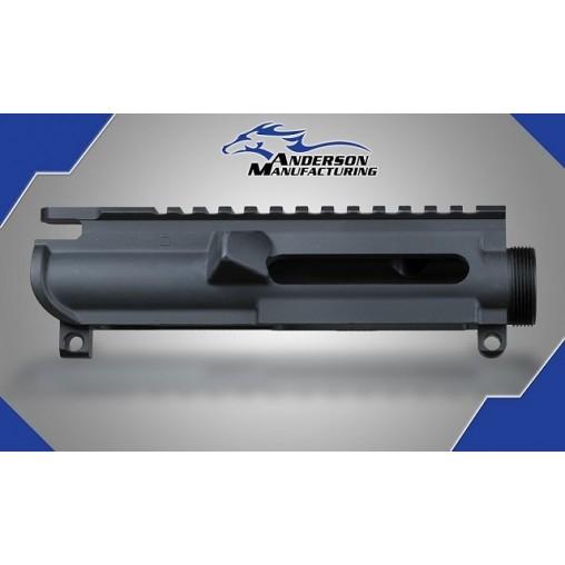 Anderson AR15 Slick Side Upper Receiver - No forward Assist, No Dust Cover