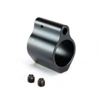 Black Nitride Gas Block Low Profile .750
