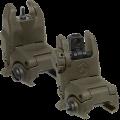 Magpul MBUS Gen II Front & Rear Sight Set - OD Green