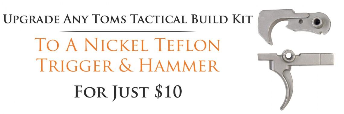Nickel Teflon Trigger & Hammer Upgrade