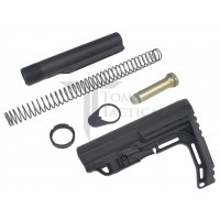 AR15 Buffer Kit 7075-T6 with Mission First Tactical MFT Stock - Black