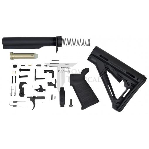 Toms Tactical AR-15 Magpul CTR Lower Build Kit - Black