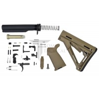 Toms Tactical AR-15 Magpul CTR Lower Build Kit - FDE