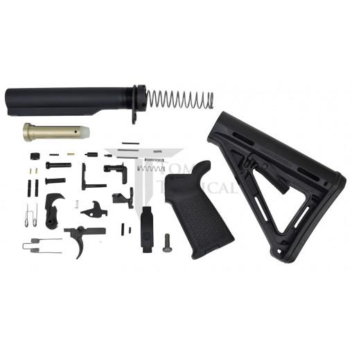 Toms Tactical AR-15 Magpul MOE Lower Build Kit - Black